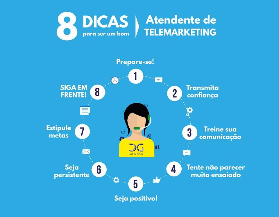 8 dicas para ser o melhor atendente de telemarketinge