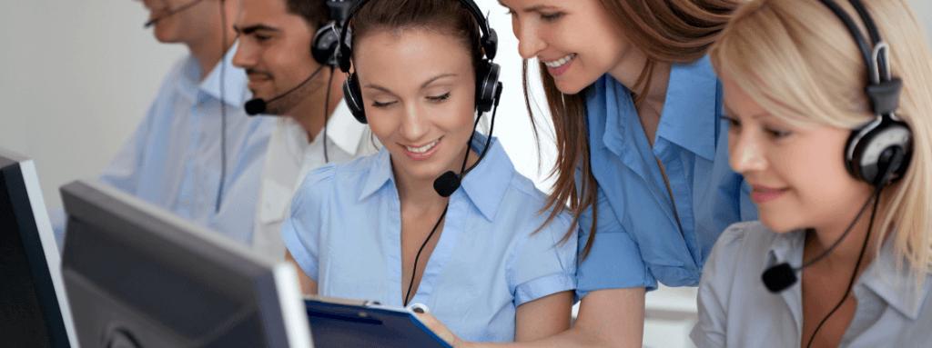 Relatórios de atendimento para call center